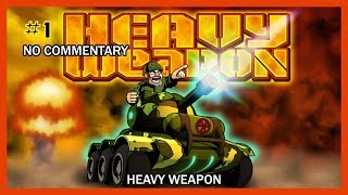 Heavy Weapon Walkthrough - Mission #1-9 (All Stages Complete) HD 1080p XBLA No Commentary