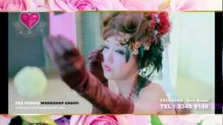 ENVI Bridal Print Photo AD 2013 - the Making of Video 2.0 (China Super Girl Kingboo)