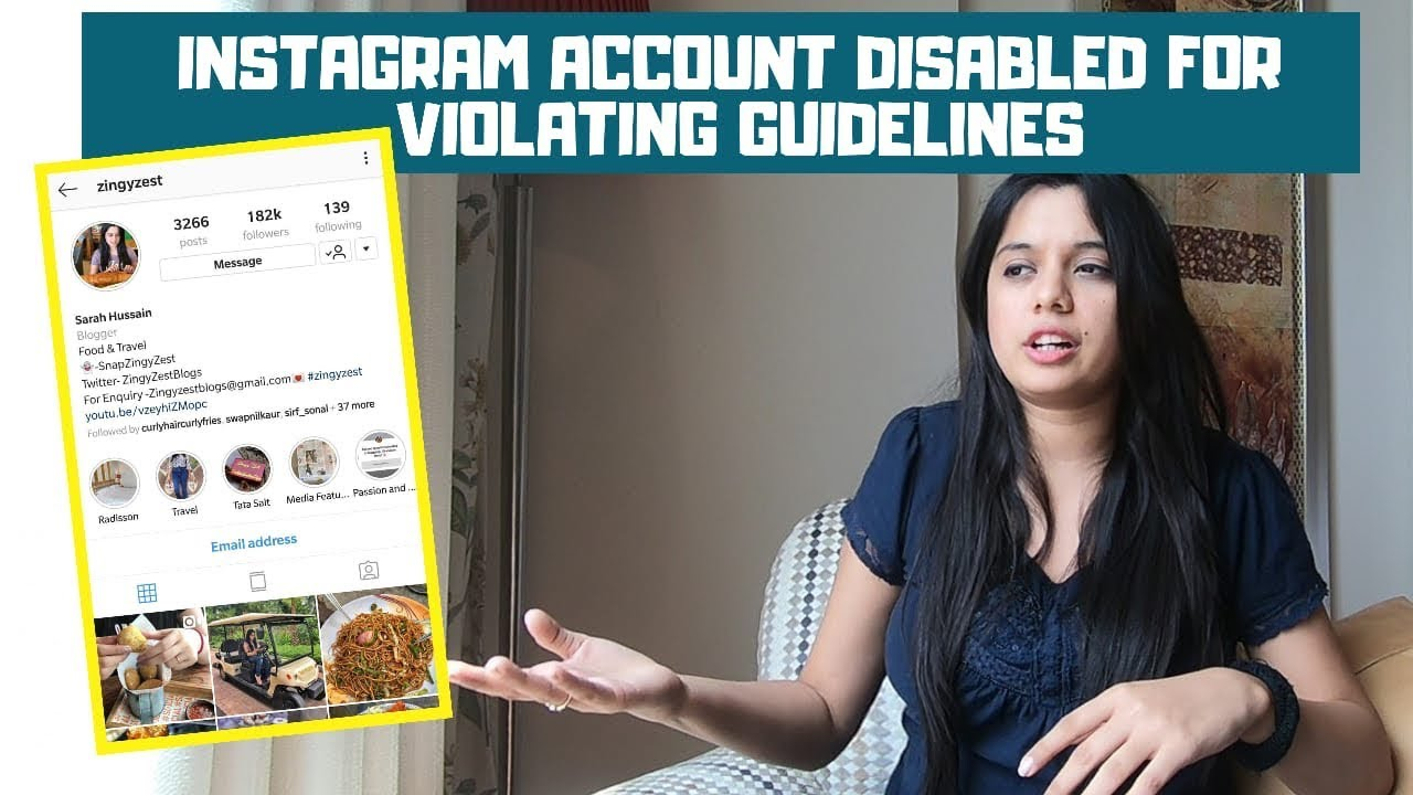 Instagram Account Disabled for Violating Guidelines? GET IT BACK!