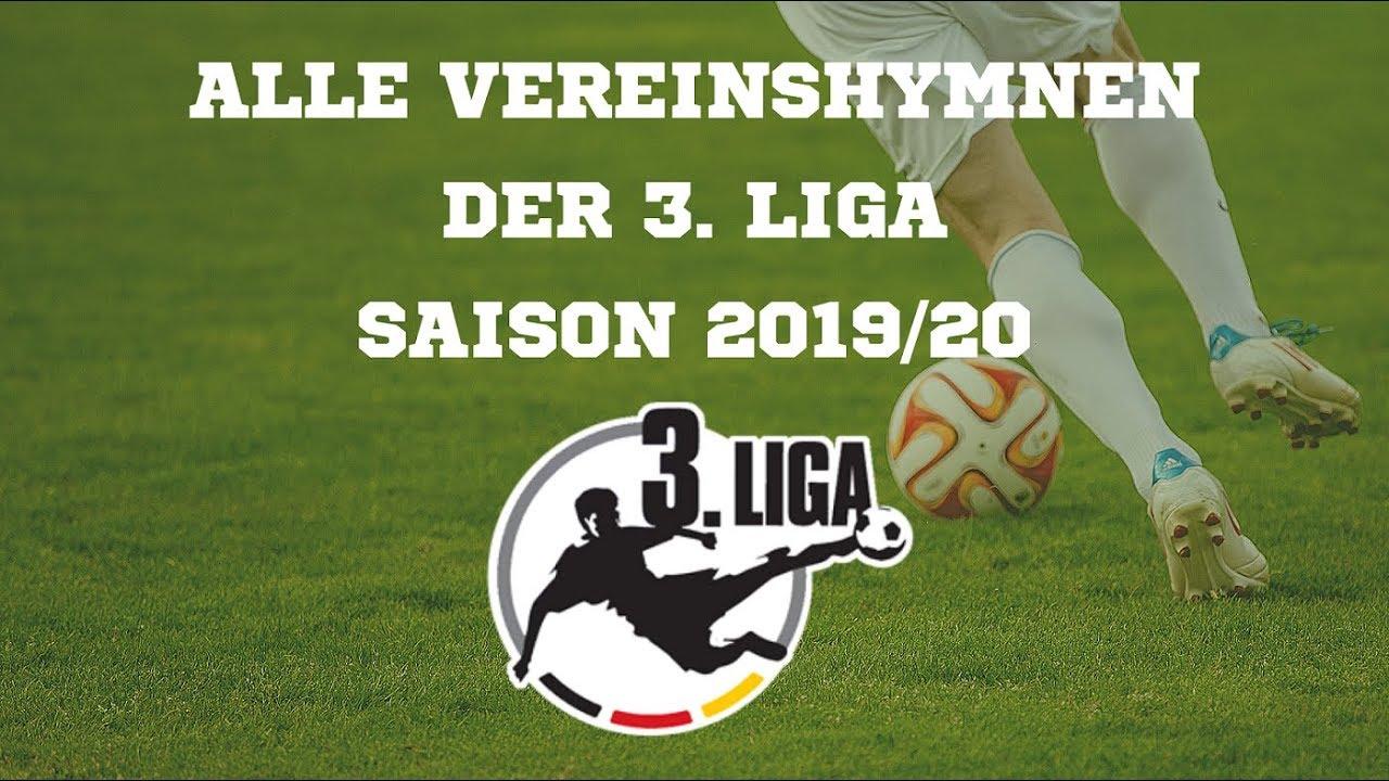3. Liga Vereinshymnen Saison 2019/20