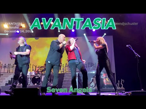 Avantasia - SHOW ENDING - Sign of the Cross - Seven Angels @Karlsruhe, December 14, 2019 4K LIVE