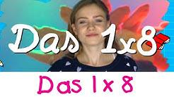 Das 1x8 Lied - Mathe Lernlieder Marie Wegener || Kinderlieder