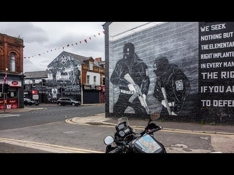 Yamaha XT660Z In Ireland & Scotland - North Ireland And East Belfast - Part 16