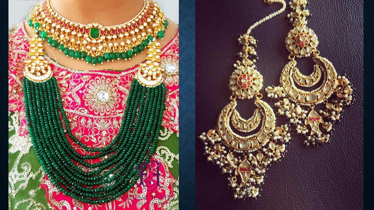 kundan polki indian bridal jewelry art karat style sabyasachi