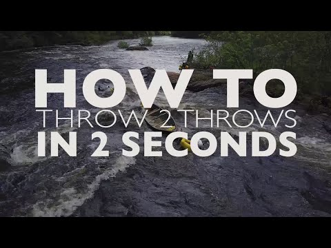 Whitewater Rescue Essentials: How to Throw Two Lines