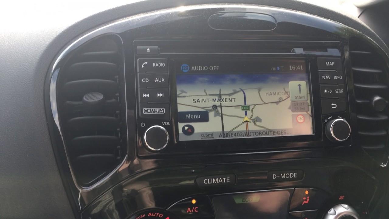 Nissan Connect Satnav Restart