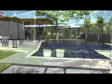 Forestridge Modern Swimming Pool by Pool Environments