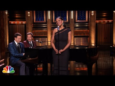 Audra McDonald Sings Yahoo! Answers - The Tonight Show Starring Jimmy Fallon  - JFmKtS_dM5E -