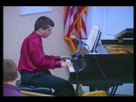 Southern Gospel Music - Piano Solo - 16 year old Marcus