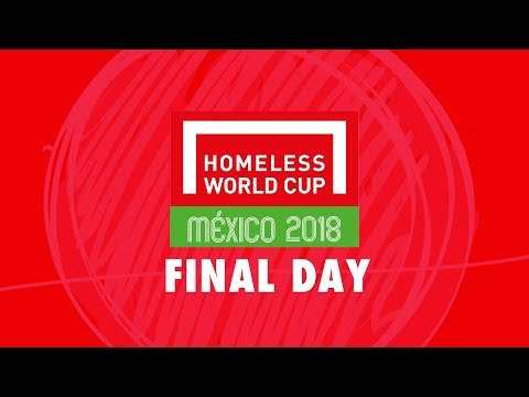 LIVE | Day 6 Homeless World Cup 2018 | Pitch 1