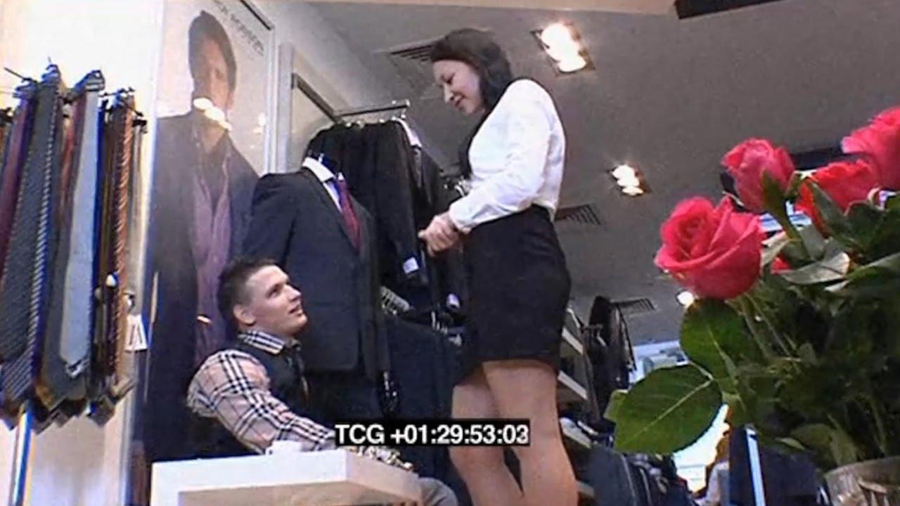 Приятная девка изменяет своему парню