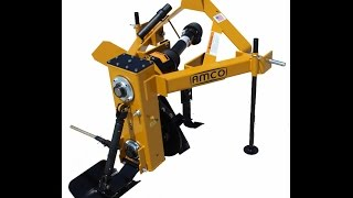 amco ditcher new way to change a bearing in under an hour without removing the chain and sprocket