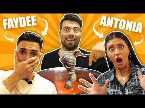 Dünyaca Ünlü Şarkıcılara ŞIRDAN MUMBAR Yedirdim! Faydee Feat Antonia