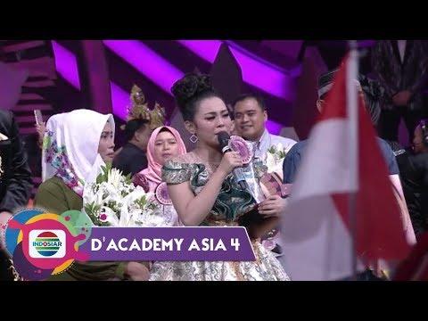 DETIK DETIK MENEGANGKAN ITU AKHIRNYA DATANG! Selamat untuk Selfi Juara 1 DA Asia 4!