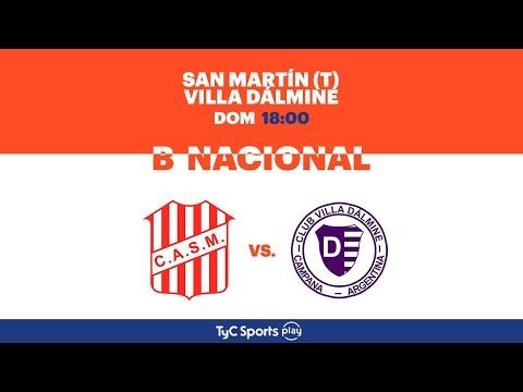 Primera B Nacional: San Martín (T) vs. Villa Dálmine | #BNacionalenTyCSports