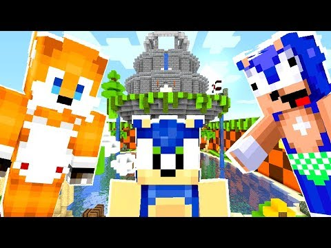 Minecraft Sonic The Hedgehog - Baby Sonic And Baby Tails Trouble! [53]