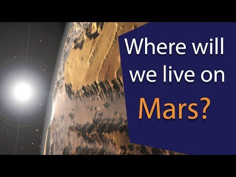 Where will we live on Mars? The Case for Mars 20