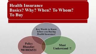 Health Insurance Keywords By Expert   Policy Bhandar   Yogendra Verma