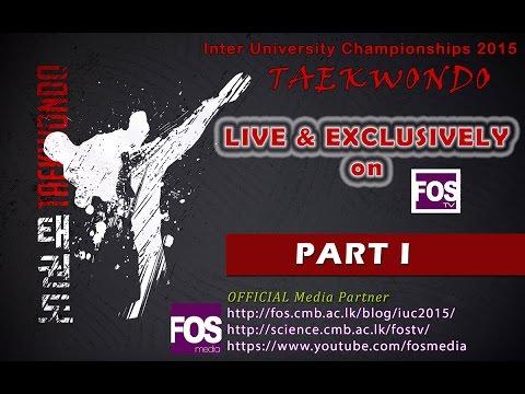 Inter University Championships 2015 - Taekwondo - Part 1
