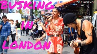 BUSKING IN CAMDEN (Zen Blythe, Seann Miley Moore, Cru Fox)