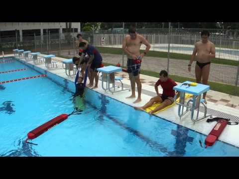 ABC Aquatics Lifeguards: Submerged Passive Victim in Deep Water - Timed Response (Training Video) from YouTube · Duration:  3 minutes 7 seconds
