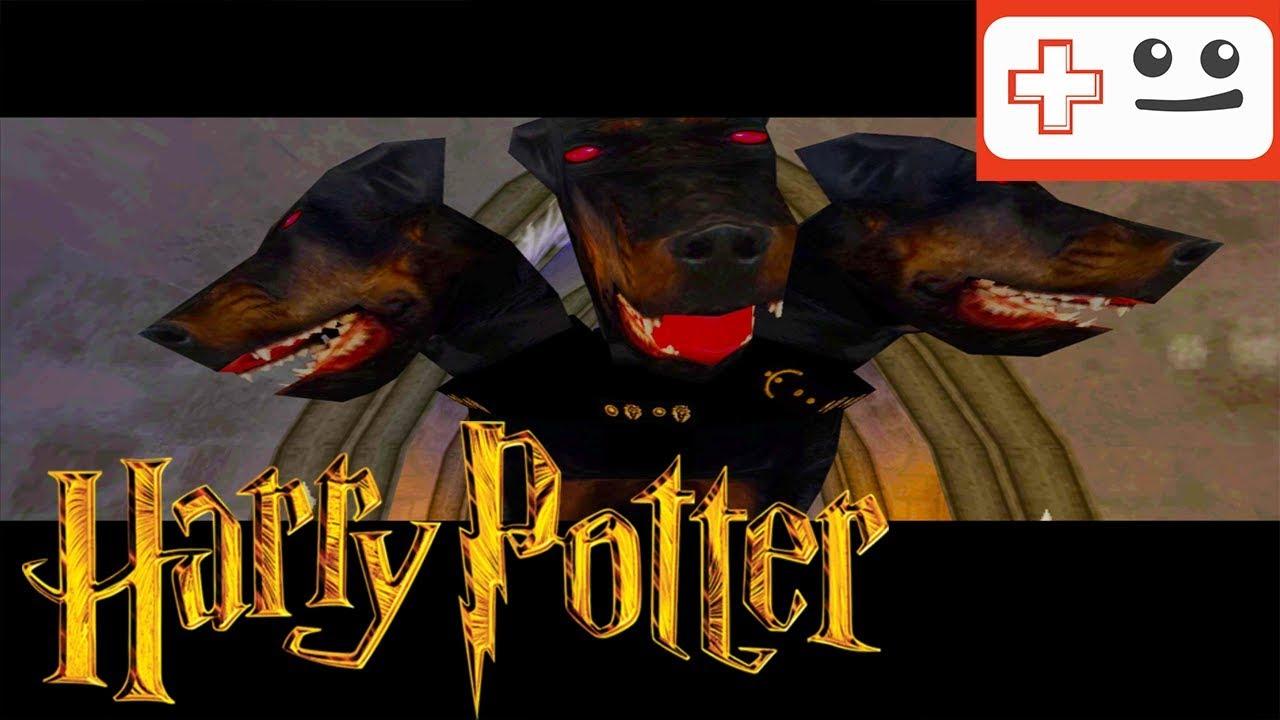 Harry Potter Und Der Stein Der Weisen 15 Fluffy Ps1 Youtube