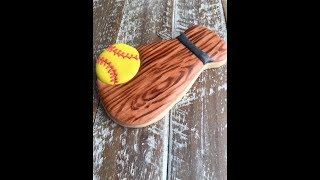 WOOD GRAIN- How to create on a cookie!