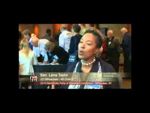 DPW 2015 Convention Interview: Sen. Lena Taylor (D-4th District)