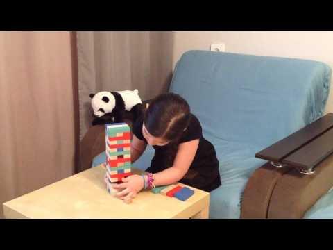 Развивающие игры для детейДженгаигра для всей семьи(Эмилия)/Educational game for kidsJenga