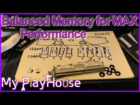How to avoid Unbalanced Memory for MAX Performance - 537