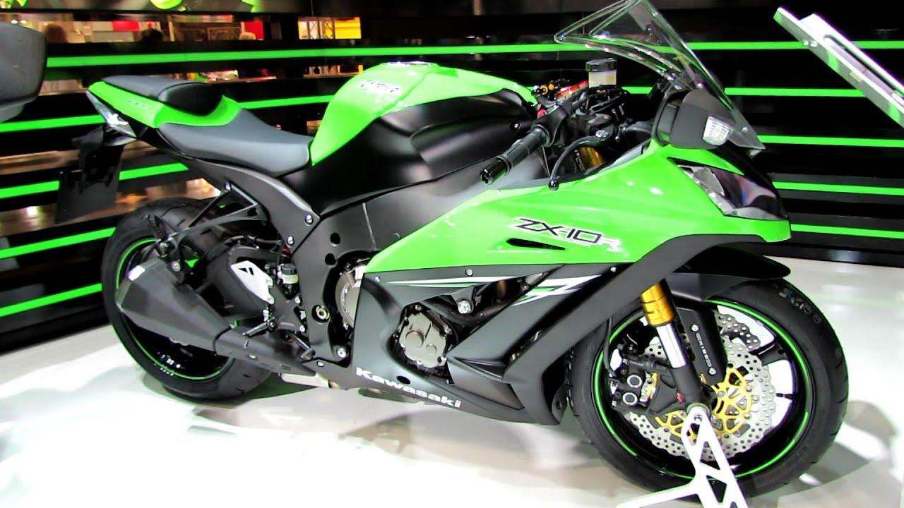 2014 Kawasaki Ninja ZX-10R Walkaround - 2013 EICMA Milan Motorcycle ...
