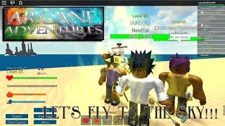 "ROBLOX - Arcane Adventures (Season 5) - Ep. 114 "" Ice Maze! Battle at the sea cannon!"""