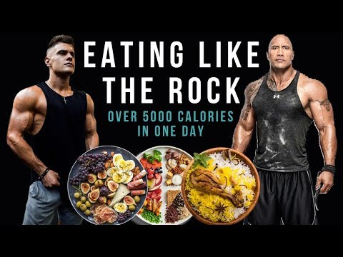 I Ate Like The Rock For 24 Hours And This Is What Happened