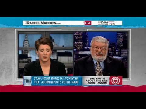 GOP Thugs accuse President Obama for Acorn Part2 2/2 Rachel Maddow