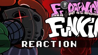 Friday Night Funkin' - TRICKY MOD REACTION
