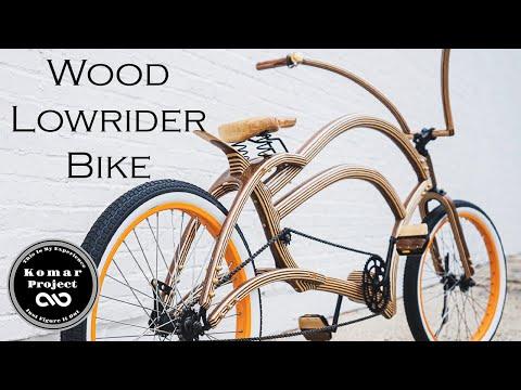 Making the Craziest Wooden Lowrider Bike !!!