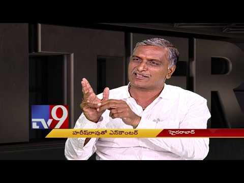 TRS leader Harish Rao in Encounter With Murali Krishna  - TV9