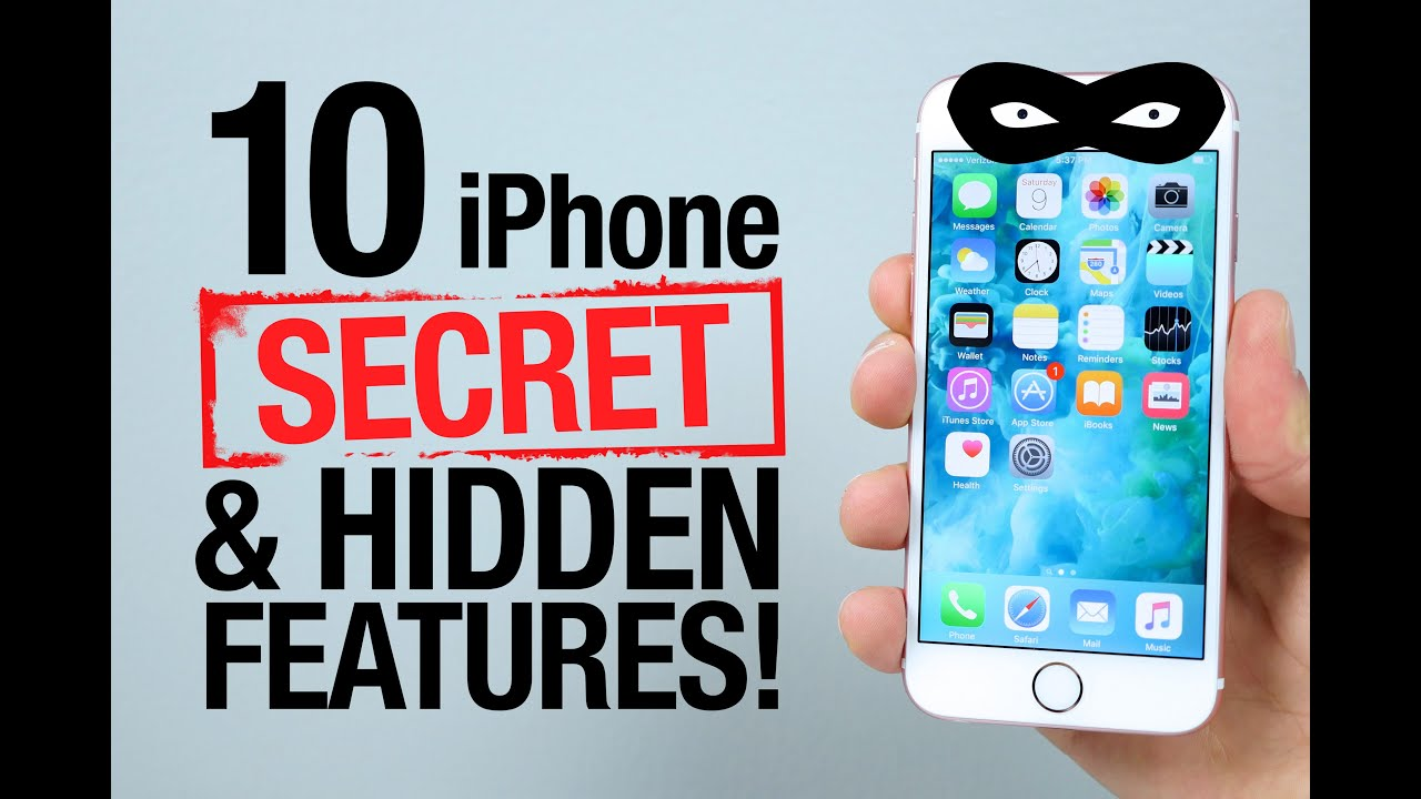 Find hidden photos on iphone