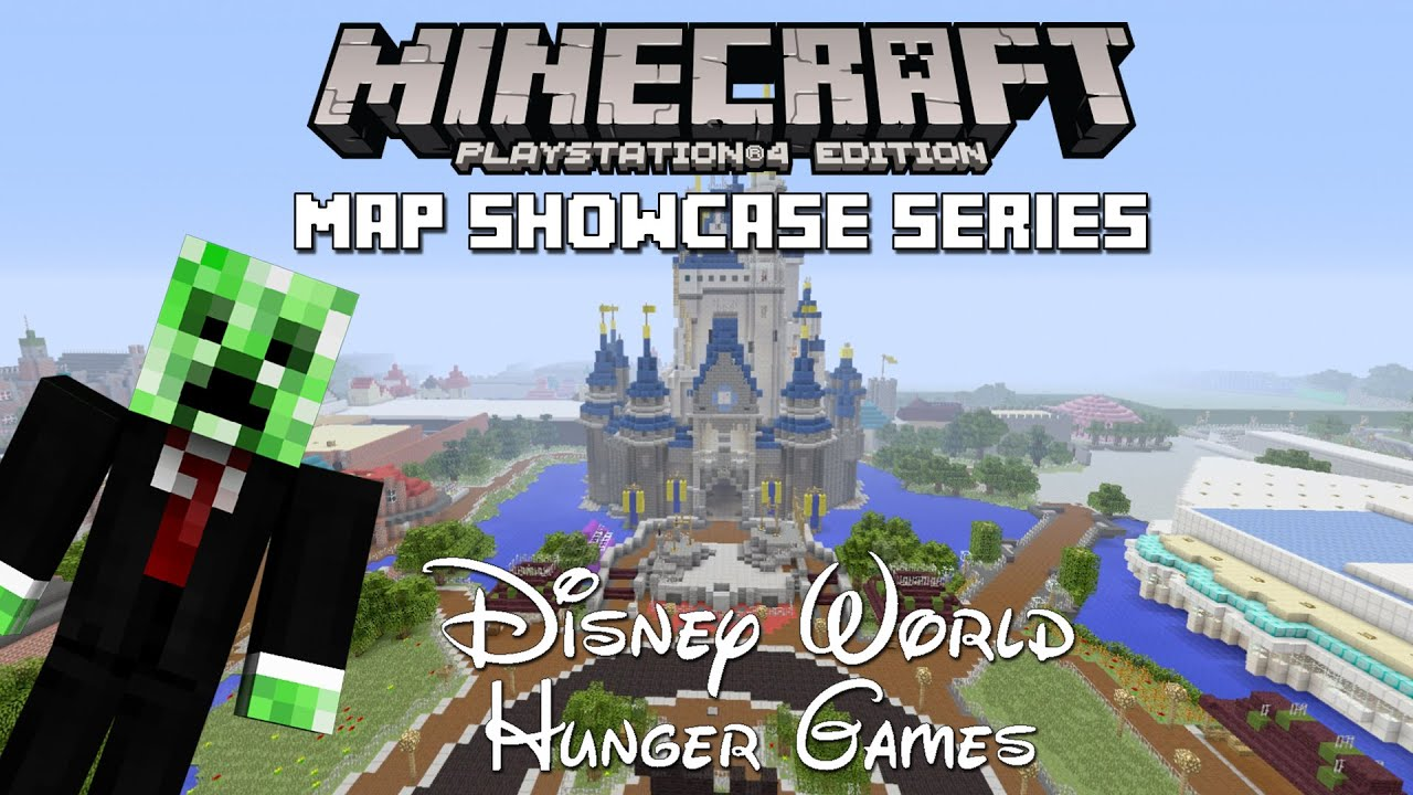 Ps3ps4 minecraft map showcase episode 106 disney world hunger youtube premium gumiabroncs Images
