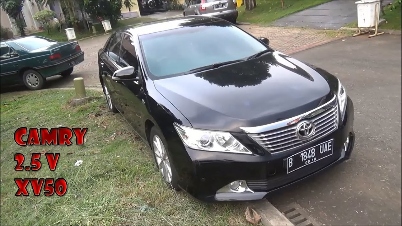 review toyota camry 2 5 v xv50 tahun 2014 youtube. Black Bedroom Furniture Sets. Home Design Ideas