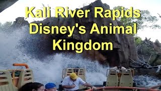 Kali River Rapids On Ride POV Walt Disney World, Disney's Animal Kingdom GoPro HD