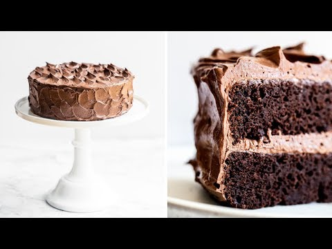How to Make the Best Chocolate Cake | Easy & Fudgy!