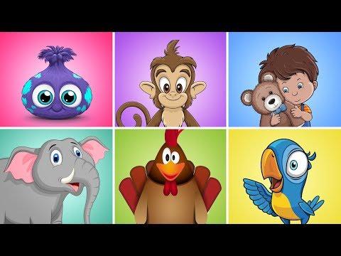 Dečija Zona MIX   Najlepše dečije pesme   Čupavci, Majmunski Ples, Imam jednog medu plišanog...