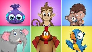 Dečija Zona MIX | Najlepše dečije pesme | Čupavci, Majmunski Ples, Imam jednog medu plišanog...