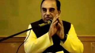 Current Political Situation In India - Dr. Subramanian Swamy in NJ on 4th July 2011 - Part 7.flv