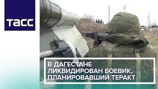 В Дагестане ликвидирован боевик, планировавший теракт
