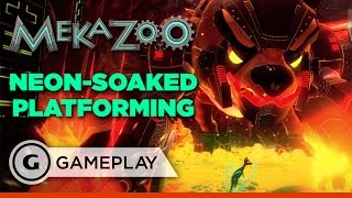 Mekazoo Gameplay - Animal Swapping Combos