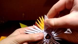 Модульное оригами. Пятиконечная звезда