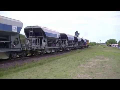 "Trenes de Uruguay-(CFU)-""Saliendo de Tacuarembo"""