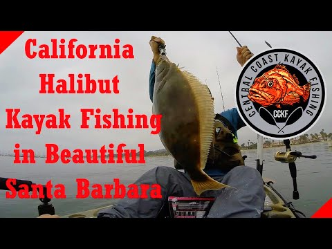 Kayak Halibut Fishing In Santa Barbara Harbor